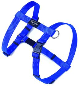 Rogz - Utility Extra-Large Lumberjack Dog H-Harness - Blue