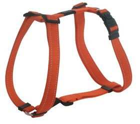 Rogz - Utility Small Nitelife Dog H-Harness - Orange