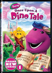 Barney Once Upon A Dino Tale (DVD)