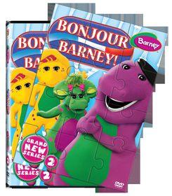 Barney Bonjour Barney! (DVD)