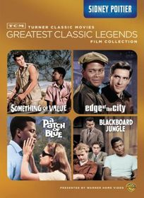 Tcm Greatest:Legends Sidney Poitier - (Region 1 Import DVD)