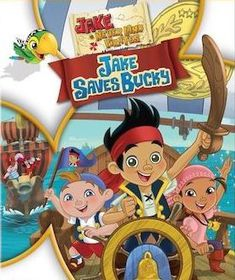 Jake & The Neverland Pirates:Jake Saves Bucky (DVD)
