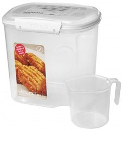 Klip It - 2.4L Bakery Storage Container with Cup (176mm x 132mm x 174mm)