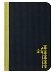 Ozaki iPad Mini Code Number 1 Folio - Black & Yellow