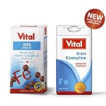 Vital Iron Tablets 100