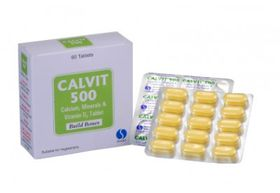 Calvit tablets 500