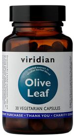 Viridian Olive Leaf Extract Vegetarian Capsules (30)