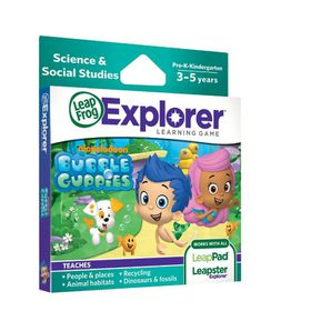 LeapFrog - Explorer Game - Nickelodeon Bubble Guppies