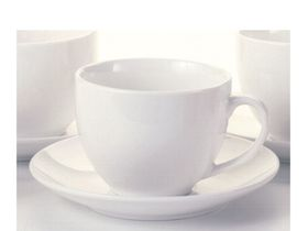 Maxwell and Williams - White Basics Tea Cup and Saucer - 240ml