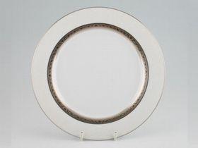 Noritake Signature Platinum Side Plate 16cm - White & Platinum (16mm x 16mm x 1mm)