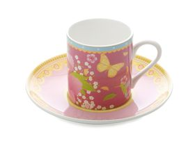 Maxwell and Williams Cashmere Enchante Gabrielle Demi Cup & Saucer