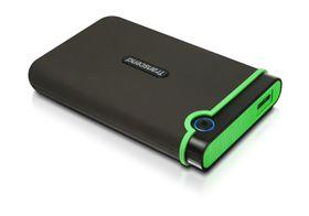 """Transcend 1TB Rugged USB3.0 Hard Drive 2.5"""" - Military Green"""