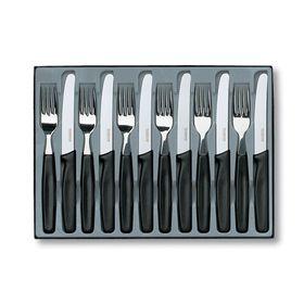 Victorino - 12 Piece Steak Knife Set - Black