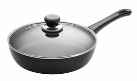 Scanpan Classic Saute Pan with Lid - 26cm