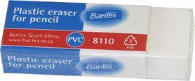 Bantex Pencil Eraser - White