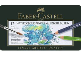 Faber-Castell Albrecht Durer Watercolour Pencils - Tin of 12