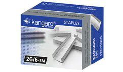 Kangaro 26/6 Staples (Box of 5000)