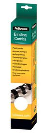 Fellowes 16mm 21 Loop Plastic Binding Combs - White (Pack of 25)
