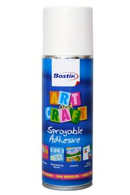 Bostik Art & Craft Sprayable Adhesive - 200ml