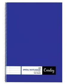 Croxley JD377 100 Page A4 F&M Side Bound Note Book (10 Pack)
