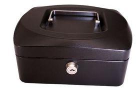 Croxley 8 Inch Cash Box - Black