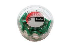 Croxley Large Indicator Pins - Green (15's)