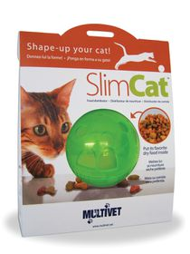 Pet Safe - Slim Cat Interactive Feeder Ball - Green