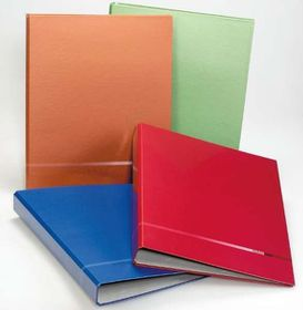 Bantex A4 2 O-Ring 25mm Classique Polytec Ringbinder - Red (Single)
