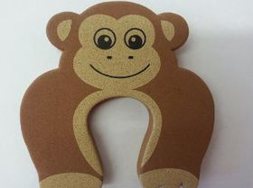 4aKid - Foam Door Stopper - Brown Monkey