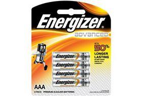 Energizer Advanced Alkaline AAA Batteries