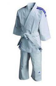 adidas Junior Judo Training Uniform - J200 White