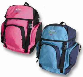 Blue Juice 3 Pocket Backpack - Purple
