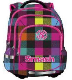 Smash Orthopedic Super Light 3 Division Printed Backpack - Pattern Pink