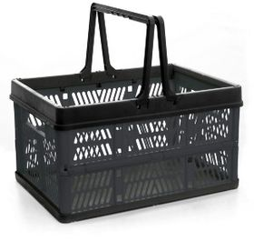 OZtrail - Folding Basket - Black