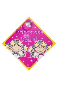 Jackflash - Baby On Board Sign - Princesses