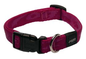 Rogz Medium Alpinist Matterhorn Dog Collar - 16mm Pink