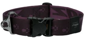 Rogz Alpinist Big Foot Dog Collar Extra-Extra Large - 40mm Purple