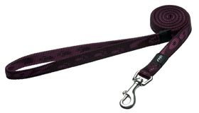 Rogz Medium Alpinist Matterhorn Fixed Dog Lead - 16mm Purple