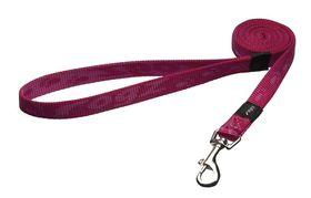 Rogz Medium Alpinist Matterhorn Fixed Dog Lead - 16mm Pink