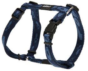 Rogz Small Alpinist Kilimanjaro Dog H-Harness - 11mm Blue