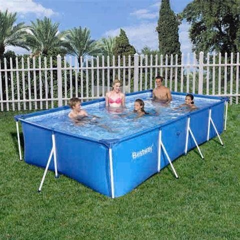 Bestway Splash Jr Frame Pool No Pump Filter 400cm X 211cm X 81cm Buy Online In