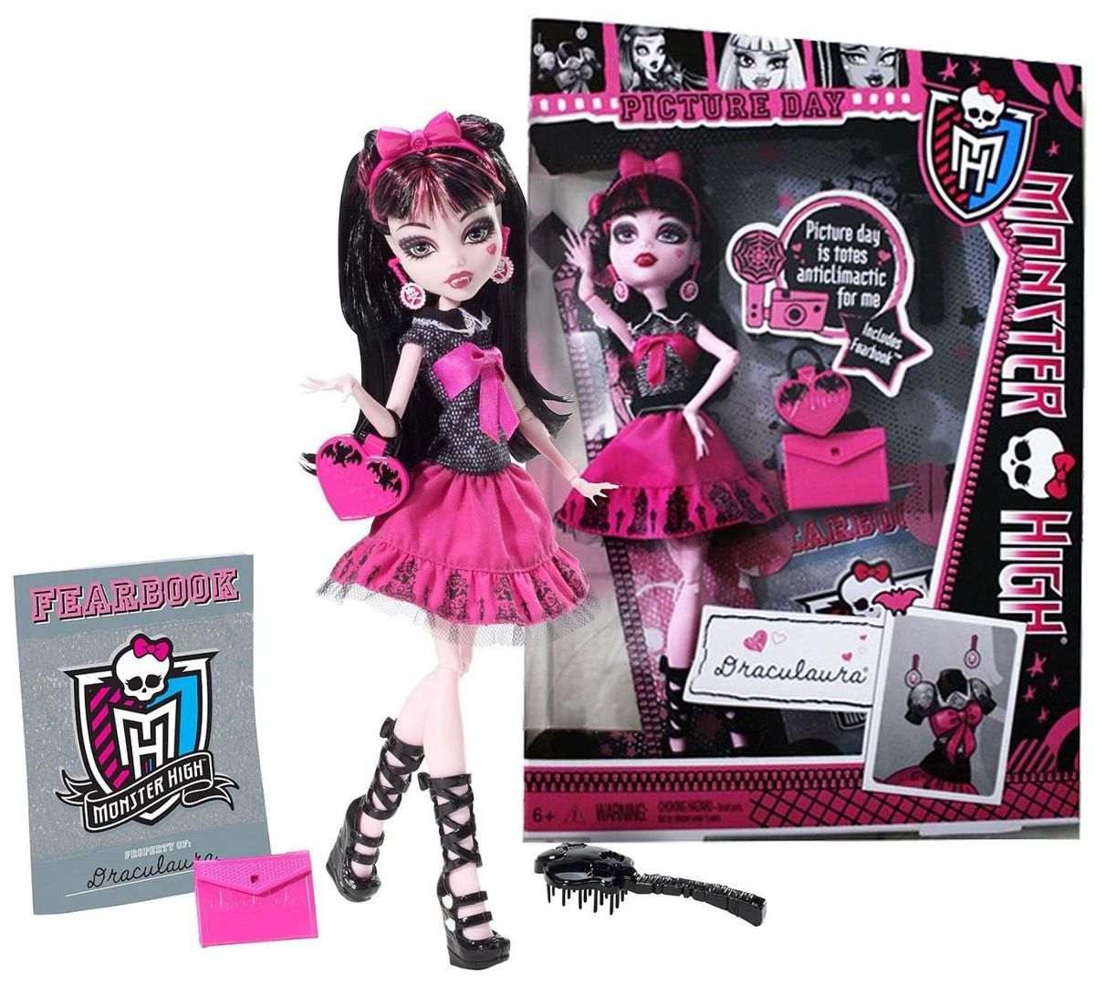 Monster high picture day dolls draculaura buy online - Image monster high draculaura ...