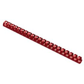 Parrot Plastic Binding Combs - 20mm - Red
