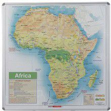 Parrot Magnetic Wall Map - Africa General Educational
