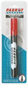 Parrot Permanent Marker Bullet Tip - Red