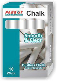 Parrot Chalk Dustless Box - 10 White