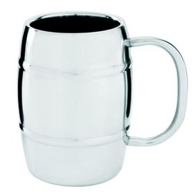 LeisureQuip - 400Ml Ultimate Double Walled Beer Mug - Stainless Steel