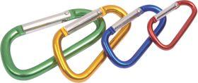 LeisureQuip - 4 Piece Standard Carabiner Set - Assorted Colours