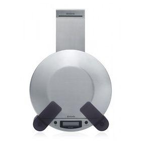 Brabantia Cookbook & Scale Holder - Matt Steel