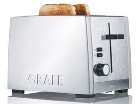 Graef - 2 Slice Toaster - Silver